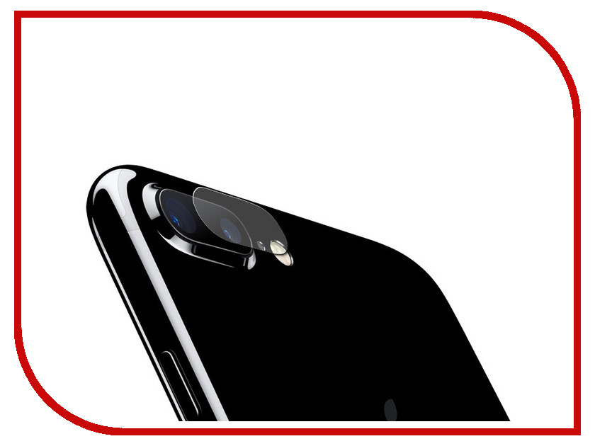 Аксессуар Защитное стекло для камеры для APPLE Iphone 7 / 8 Plus Red Line Tempered Glass УТ000015478 black new 7 85 inch regulus 2 itwgn785 tablet touch screen panel digitizer glass sensor replacement free shipping