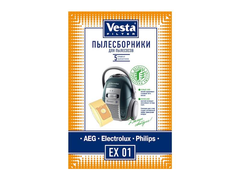 Мешки пылесборные Vesta Filter EX 01