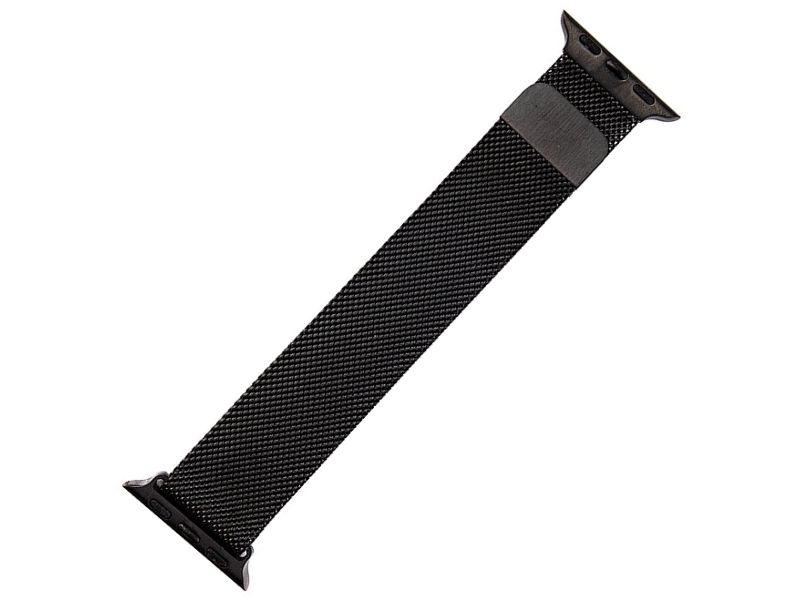 Аксессуар Ремешок Activ металлический сетчатый для APPLE Watch 38mm Black 85302