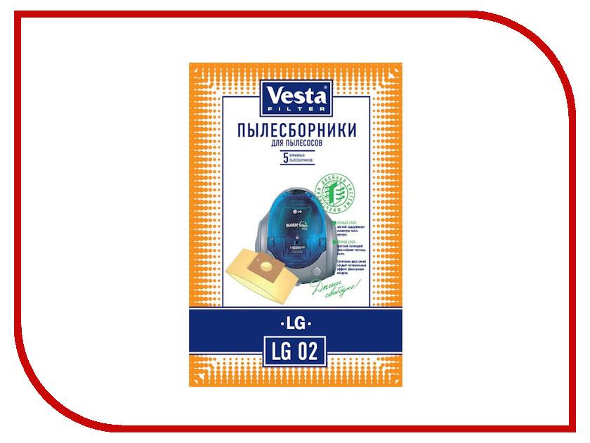 Мешки пылесборные Vesta Filter LG 02
