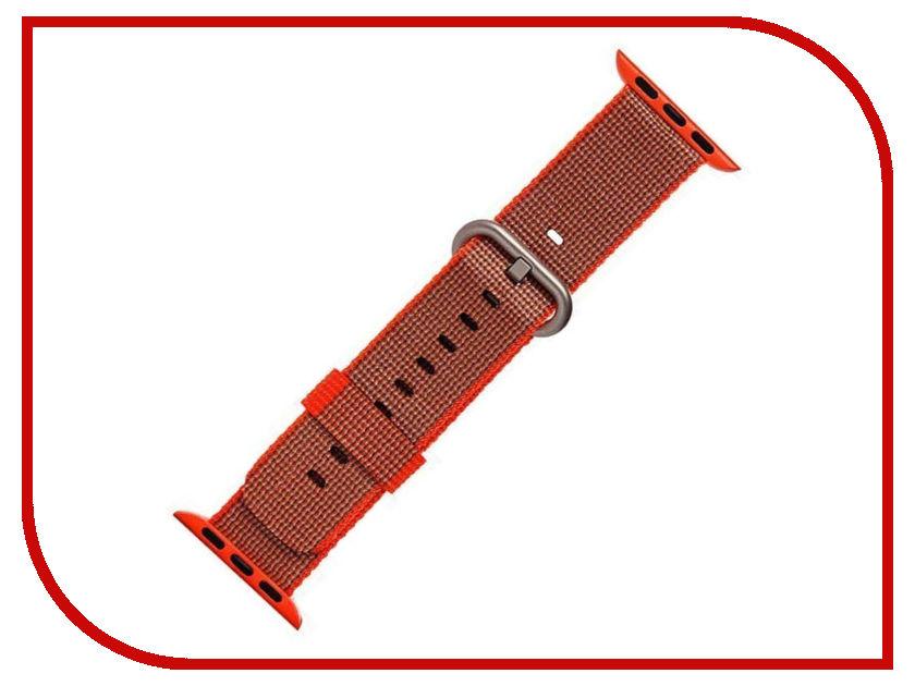 Аксессуар Ремешок Activ плетеный нейлон для APPLE Watch 38mm Orange 80249