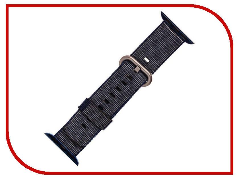 Аксессуар Ремешок Activ плетеный нейлон для APPLE Watch 38mm Blue 80248