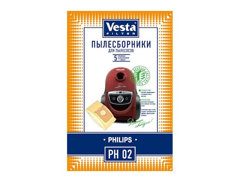 Мешки пылесборные Vesta Filter PH 02
