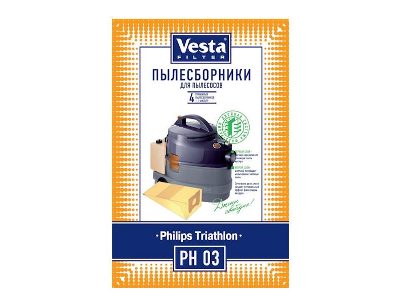Мешки пылесборные Vesta Filter PH 03