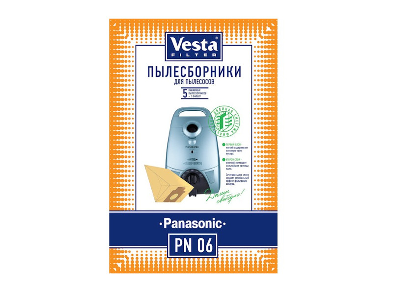 Мешки пылесборные Vesta Filter PN 06