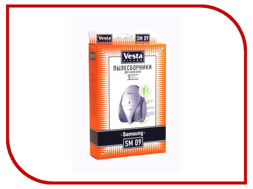 Мешки пылесборные Vesta Filter SM 09