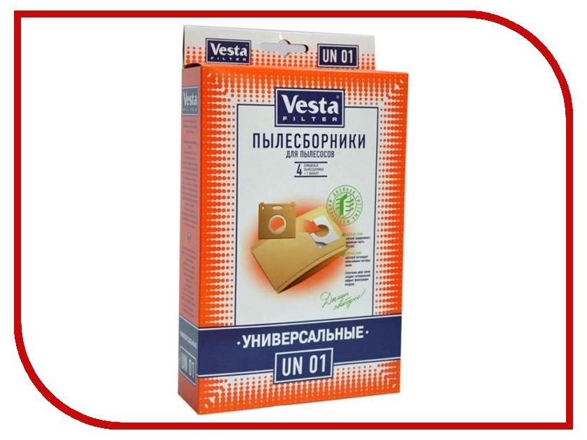 Мешки пылесборные Vesta Filter UN 01