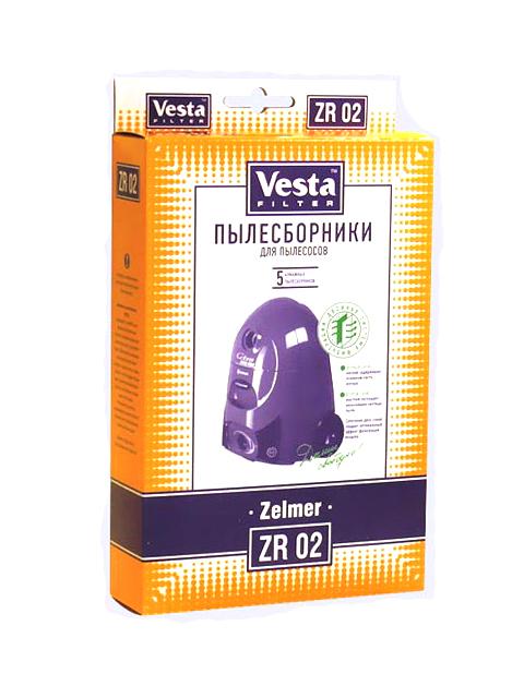 Мешки пылесборные Vesta Filter ZR 02