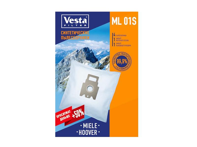 Мешки пылесборные Vesta Filter ML 01 S