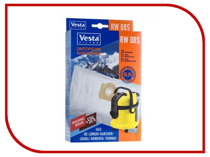 Мешки пылесборные Vesta Filter RW 08 S