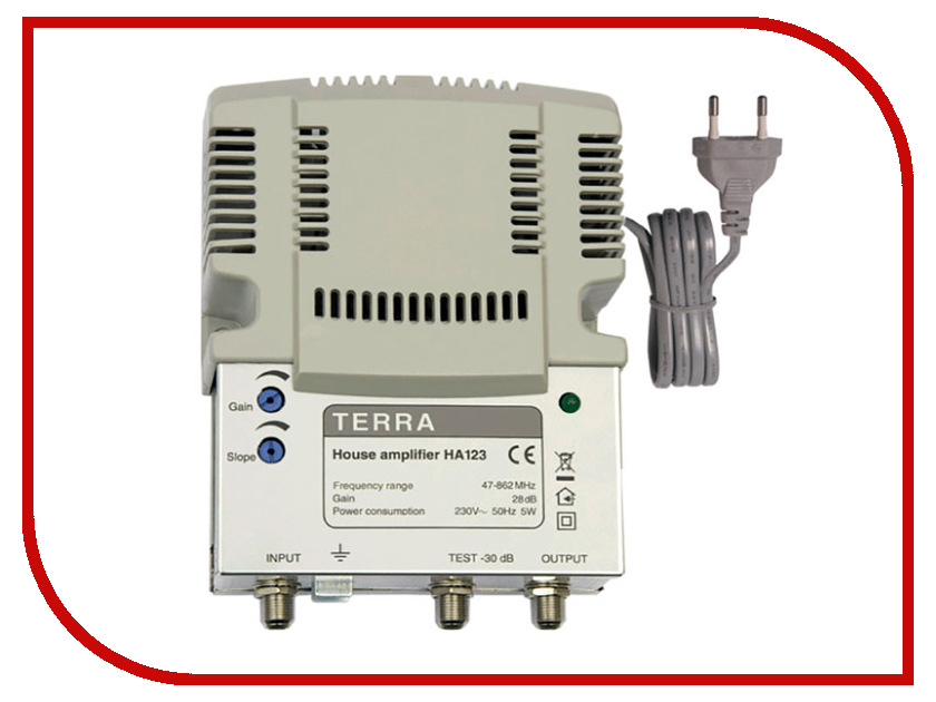 Домовой усилитель Terra HA123