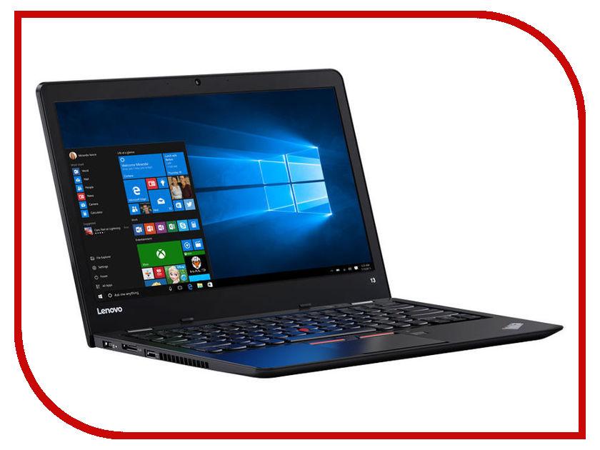 Ноутбук Lenovo ThinkPad 13 20J1S0EX00 (Intel Core i3-7100U 2.4 GHz/8192Mb/256Gb SSD/No ODD/Intel HD Graphics/Wi-Fi/Bluetooth/Cam/13.3/1920x1080/Windows 10 64-bit) 28wh new laptop battery for lenovo thinkpad x1 helix tablet pc 45n1100 45n1101 41cp3 71 90