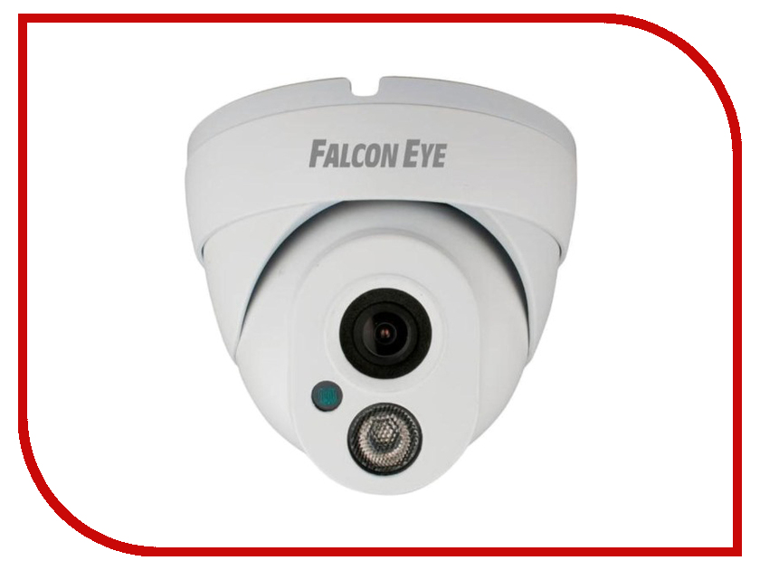 IP камера Falcon Eye FE-IPC-DL100P Eco видеокамера ip falcon eye fe ipc bl130wf 3 6 мм черный
