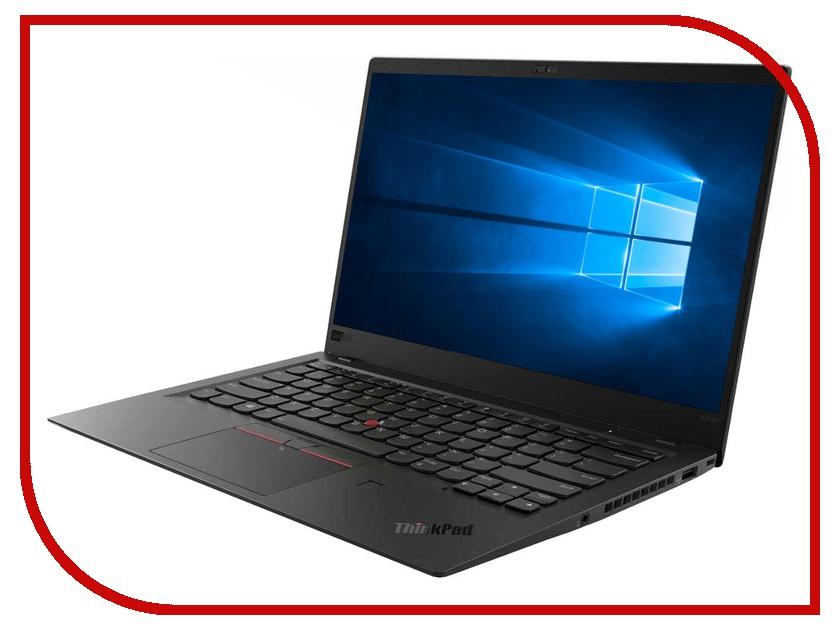 Ноутбук Lenovo ThinkPad X1 Carbon 20KH006HRT (Intel Core i7-8550U 1.8 GHz/16384Mb/256Gb SSD/No ODD/Intel HD Graphics/LTE/Wi-Fi/Bluetooth/Cam/14.0/1920x1080/Touchscreen/Windows 10 64-bit) ноутбук hp spectre x360 13 ae009ur 2vz69ea intel core i7 8550u 1 8 ghz 8192mb 256gb ssd no odd intel hd graphics wi fi bluetooth cam 13 3 1920x1080 touchscreen windows 10 64 bit