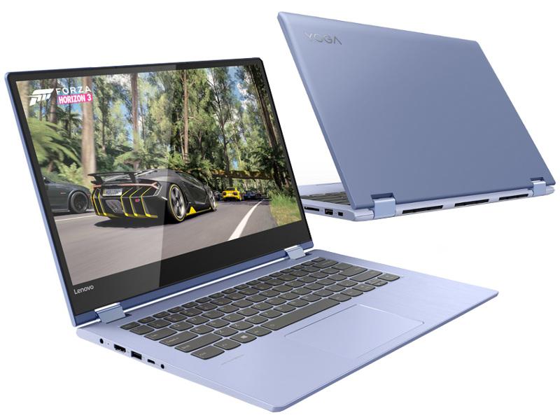 Ноутбук Lenovo Yoga 530-14IKB Blue 81EK008TRU (Intel Pentium 4415U 2.3 GHz/4096Mb/128Gb SSD/Intel HD Graphics/Wi-Fi/Bluetooth/Cam/14.0/1920x1080/Touchscreen/Windows 10 Home 64-bit)