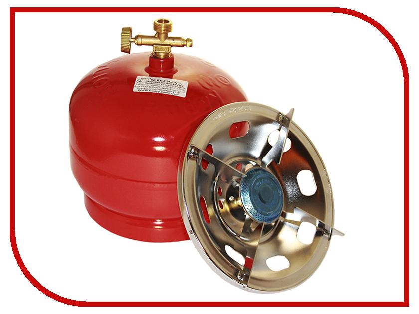 Горелка Hoxwell газовая туристическая с баллоном 4.8 л