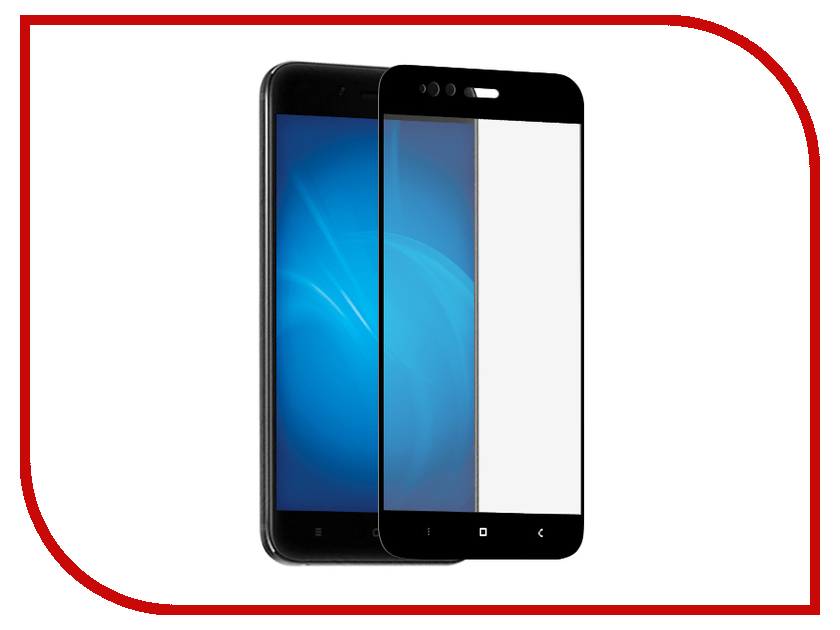 Аксессуар Защитное стекло для Xiaomi Mi5X/Mi A1 Ainy 0.25mm Full Screen Cover Black AF-X947A цена