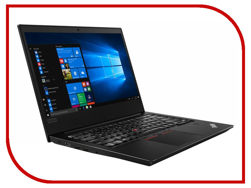 Ноутбук Lenovo ThinkPad Edge 480 20KN001VRT (Intel Core i7-8550U 1.8 GHz/8192Mb/1000Gb/No ODD/AMD Radeon RX550 2048Mb/Wi-Fi/Bluetooth/Cam/14.0/1920x1080/Windows 10 64-bit) ноутбук lenovo thinkpad e580 20ks006jrt intel core i7 8550u 1 8 ghz 8192mb 1000gb intel hd graphics wi fi bluetooth cam 15 6 1920x1080 windows 10 64 bit