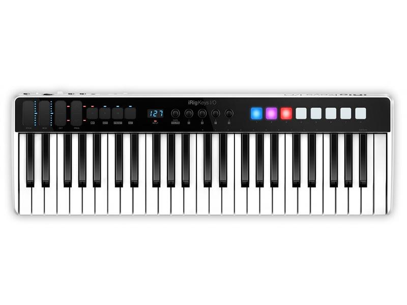 MIDI-клавиатура IK Multimedia iRig Keys I/O 49.