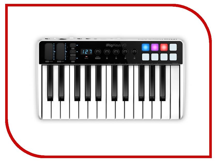 MIDI-клавиатура IK Multimedia iRig Keys I/O 25