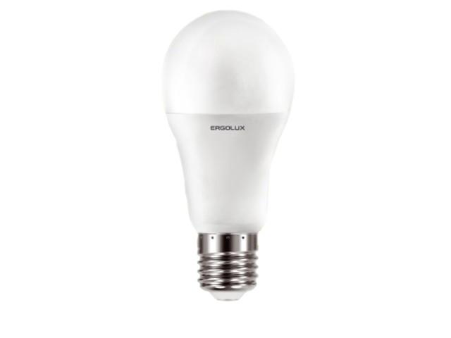 Лампочка Ergolux E27 17W 220V 6500K 1600Lm LED-A60-17W-E27-6K 13181