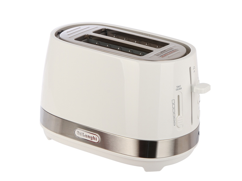 Тостер DeLonghi CTLA 2103 White