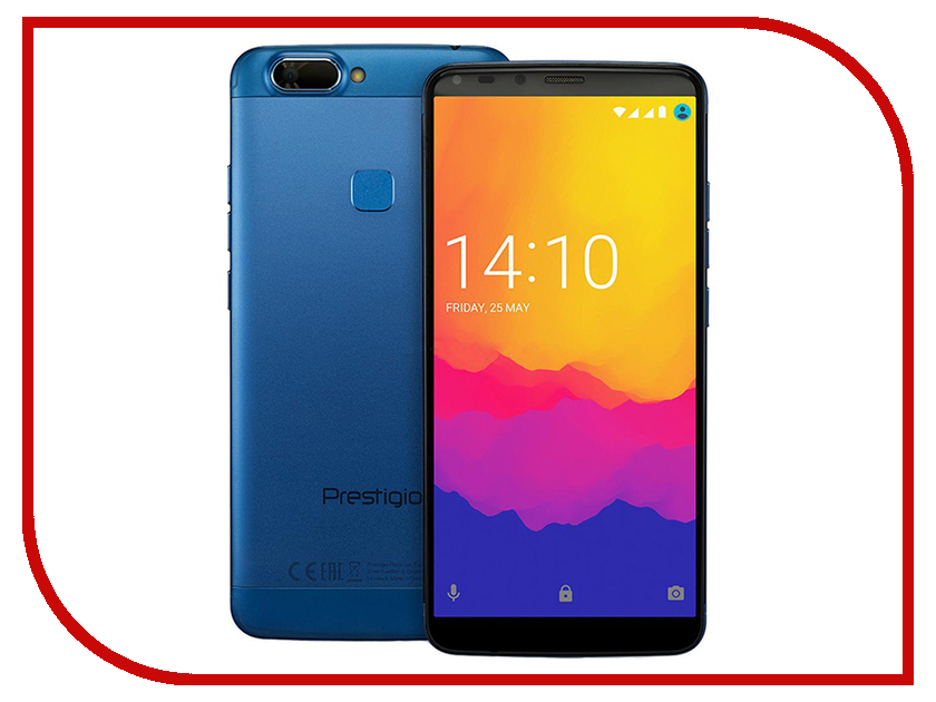 Сотовый телефон Prestigio Grace P7 LTE Blue сотовый телефон fly fs516 cirrus 12 lte blue
