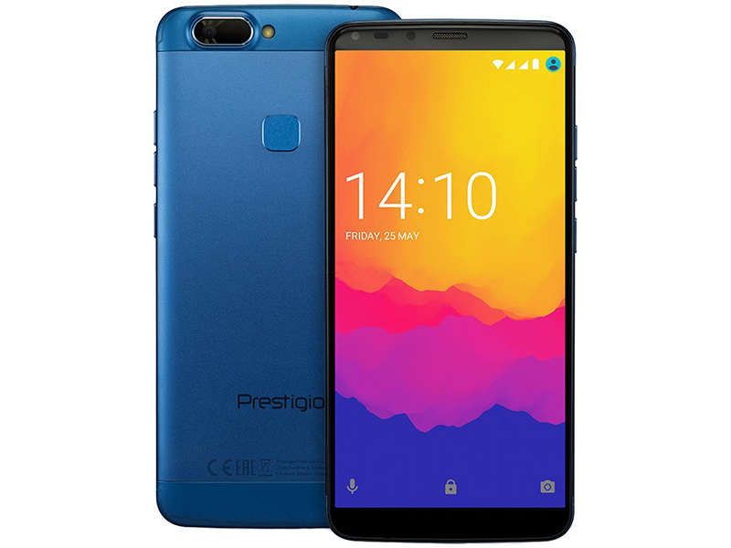Сотовый телефон Prestigio Grace P7 LTE Blue смартфон prestigio grace p7 lte gold золотой