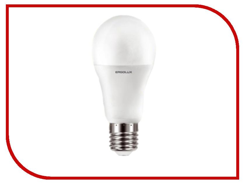 Лампочка Ergolux LED-A60-17W-E27-4K 13180 лампочка ergolux led c35 9w e14 13169