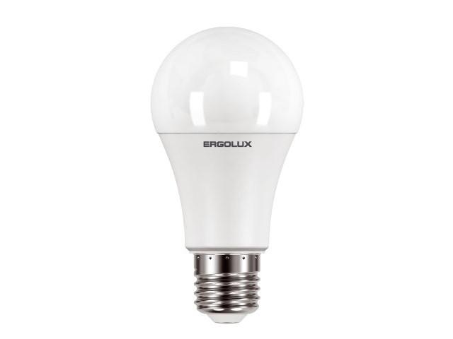 Лампочка Ergolux LED-A60-12W-E27-6K 12880