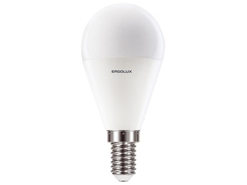 Лампочка Ergolux LED-G45-9W-E14-4K 13174 irisk лампочка сменная led 9w