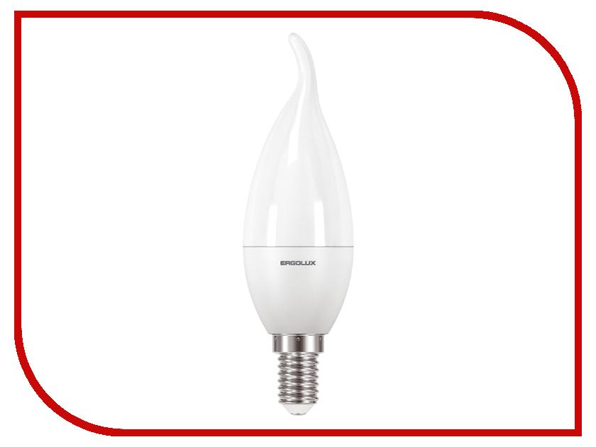 Лампочка Ergolux LED-CA35-7W-E14-6K 12876 лампочка prestigio smart color led light e14 prled5e14