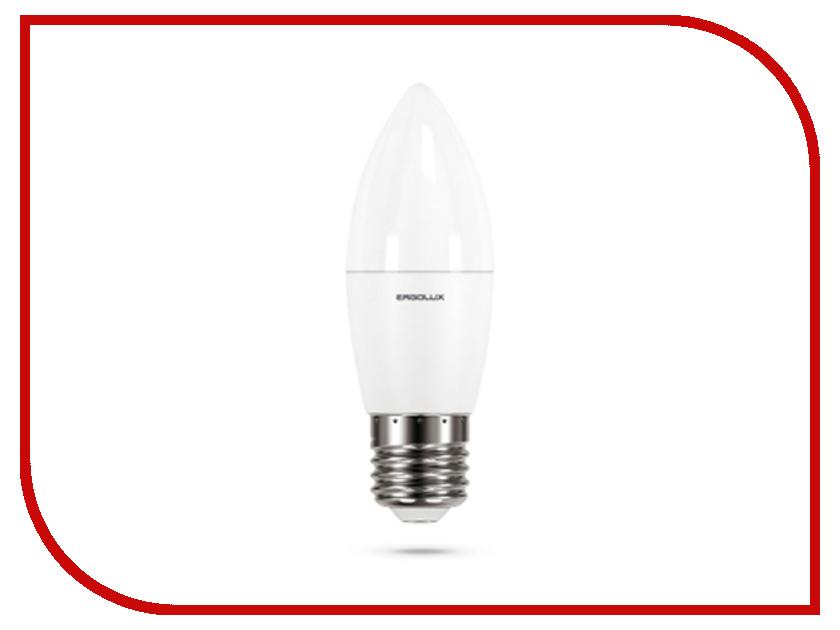 Лампочка Ergolux LED-C35-9W-E27-3K 13170