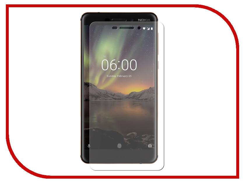 где купить Аксессуар Защитное стекло для Nokia 6.1 2018 LuxCase 0.33mm 82418 дешево