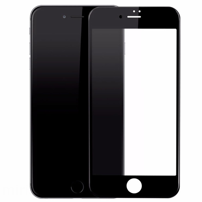 Защитное стекло LuxCase для APPLE iPhone 8 / 7 Plus 3D DustProof Black Frame 77945
