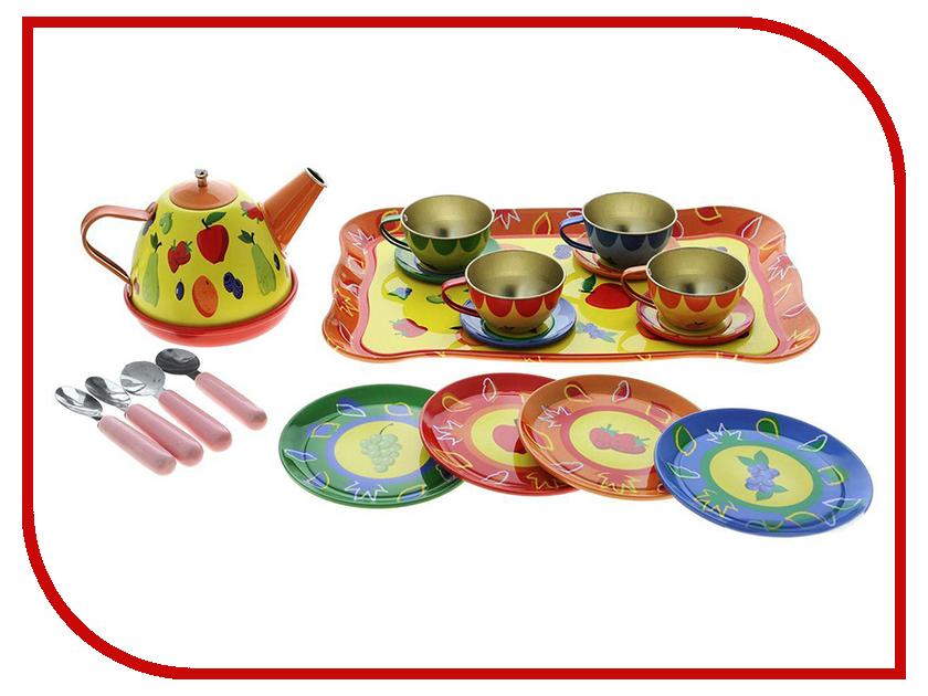 Игра ABtoys Набор посуды для чаепития Помогаю Маме PT-00256 abtoys помогаю маме для чаепития 10 предметов pt 00317