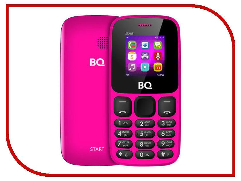 Сотовый телефон BQ 1413 Start Pink сотовый телефон digma linx a177 2g