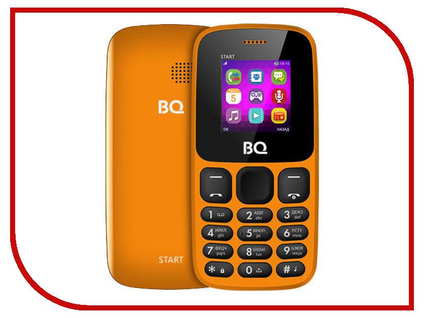 Сотовый телефон BQ 1413 Start Orange сотовый телефон vertex impress tor black orange