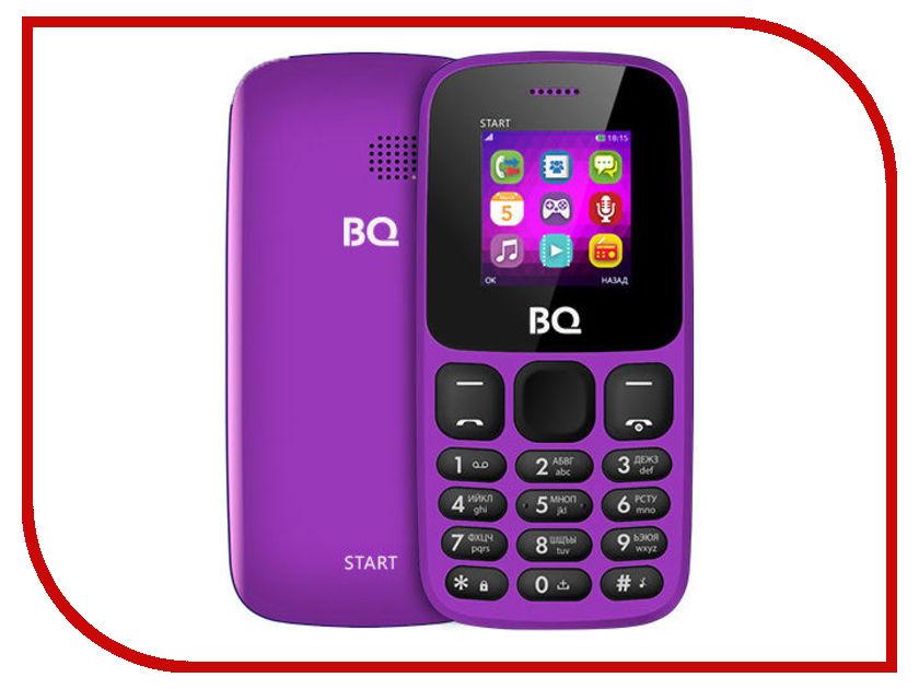 Сотовый телефон BQ 1413 Start Purple сотовый телефон digma linx a177 2g