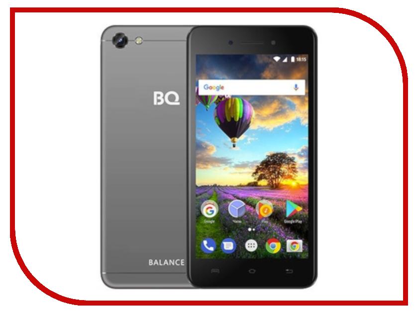 Сотовый телефон BQ BQ-5206L Balance Grey мобильный телефон bq m 1565 hong kong silver