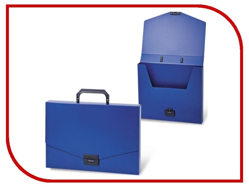 цена на Папка Портфель Brauberg Energy A4 256x330mm Blue 222082