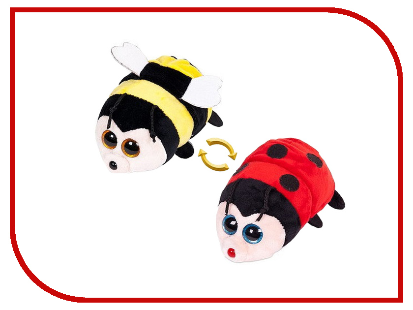 Игрушка ABtoys Перевертыши - Пчелка-Божья коровка 16cm M5009 игрушка заводная божья коровка лори