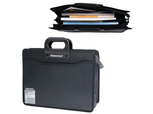 Папка Brauberg 390x320x120mm Black 221391