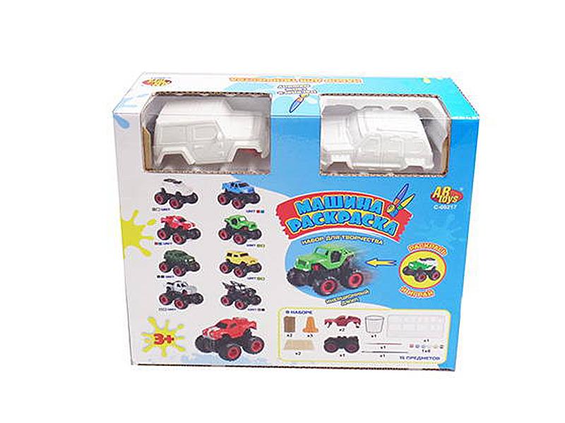 Игрушка ABtoys Раскрась и играй C-00217 игрушка abtoys джип монстры бездорожья c 00190