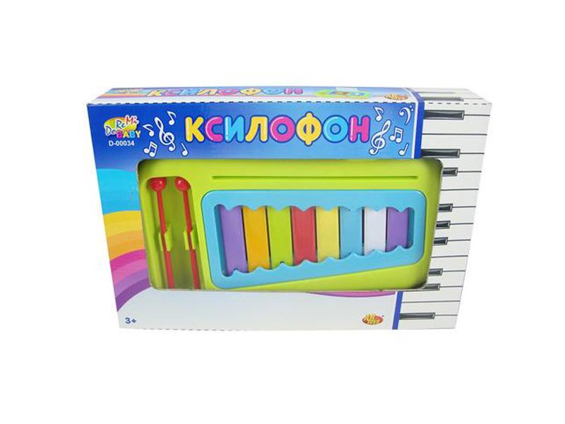 Фото - Детский музыкальный инструмент ABtoys Ксилофон D-00034 ксилофон мди