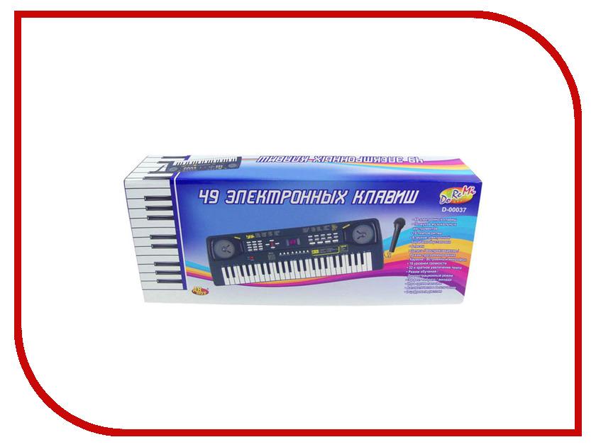 Детский музыкальный инструмент ABtoys Синтезатор D-00037 музыкальный инструмент детский doremi синтезатор 49 клавиш