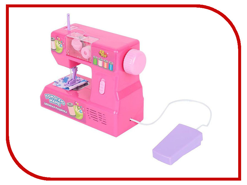 Игра ABtoys Швейная машинка Помогаю маме PT-00175