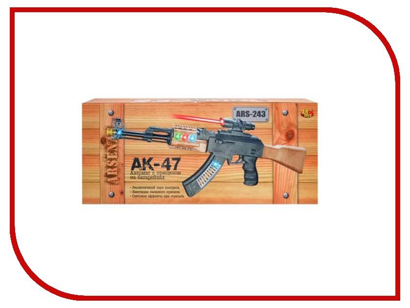 Игрушка ABtoys АК-47 ARS-243 игрушка abtoys пистолет ars 276