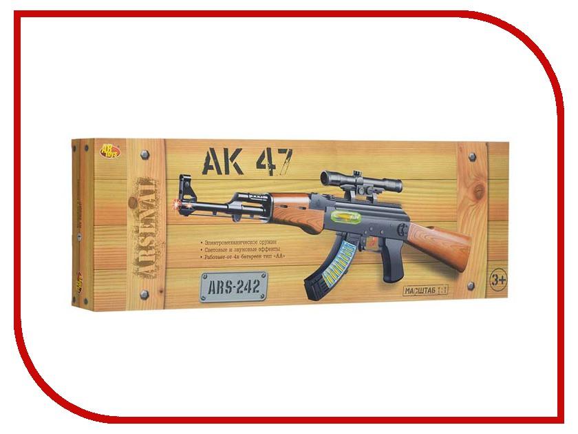Игрушка ABtoys АК-47 ARS-242 игрушка abtoys пистолет ars 276