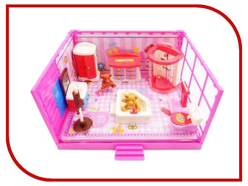 Кукольный домик ABtoys Счастливые друзья Ванная комната PT-00910 ванная комната мди